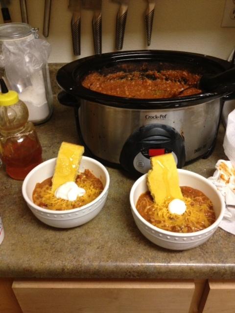 Crock Pot Turkey White Bean Chili | To Be a Soup | Pinterest