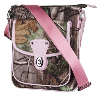 Camo Snap Messenger Bag for Ladies - Realtree APC™ Pink | Bass Pro Shops