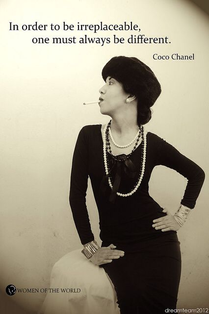Inspirational Quotes by Coco Chanel
