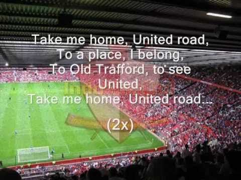 manchester united chants players