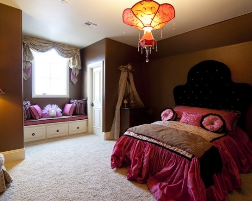 Cozy girly pink bedroom decor ideas pink house pinterest - Girly bedroom decorating ideas ...