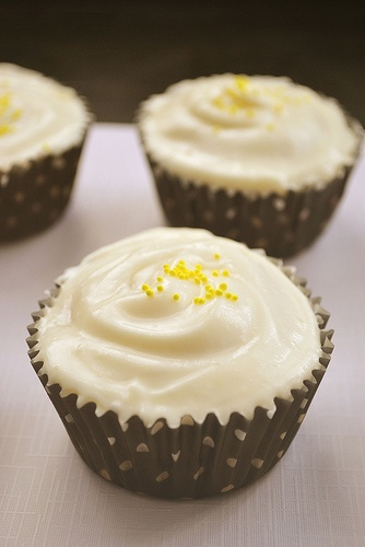 lemon pound cake cupcakes | Food to try | Pinterest