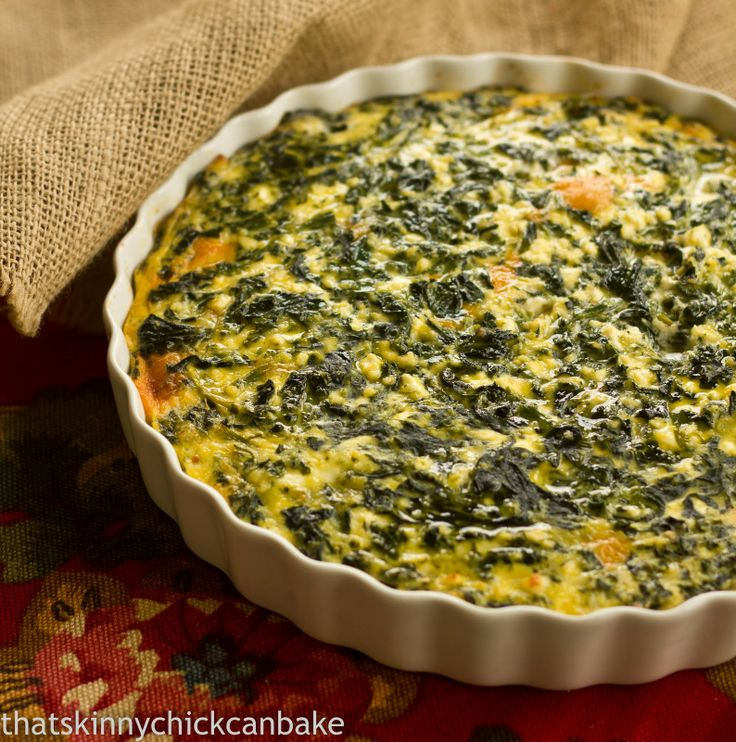 Spinach Souffle | Recipe