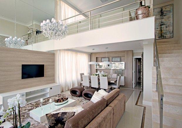 fotos de decoracao de interiores apartamentos pequenos:Paleta e texturas sofisticadas