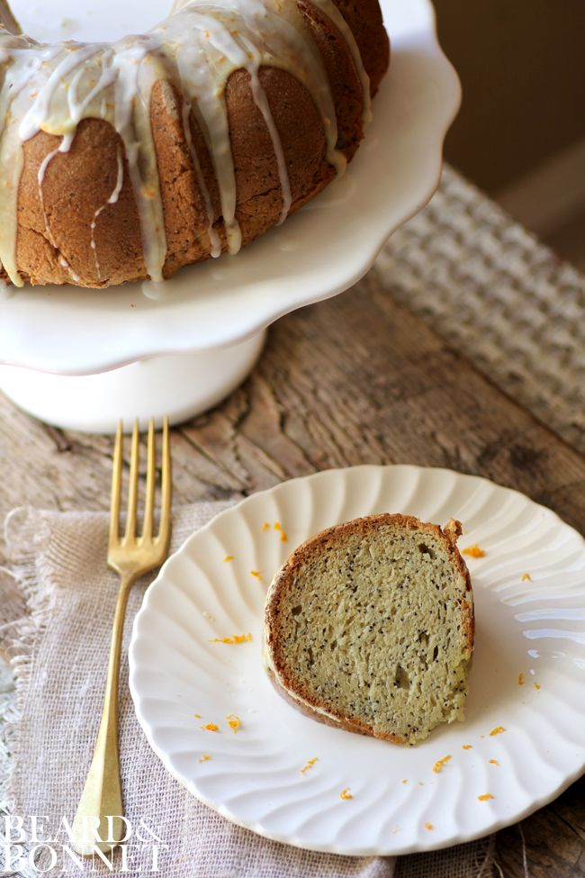 Citrus Poppy Seed Cake {Beard and Bonnet} #glutenfree