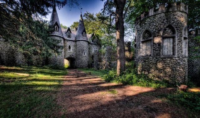 craig e clair castle atlas obscura abandoned