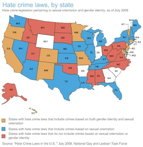 hate crime legislation There's no indication that getting hate crimes on the books actually prevents them we have seen a man dragged to death in texas simply because he was black a young man murdered in wyoming.