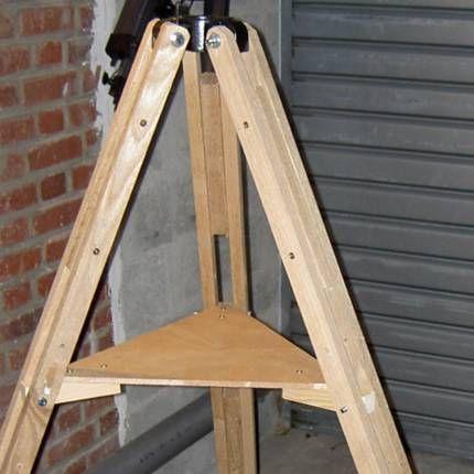 making a tripod