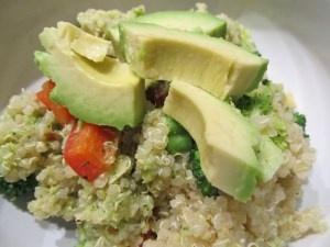 Double Broccoli Quinoa. So good! | Quinoa | Pinterest
