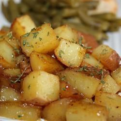 Honey Roasted Red Potatoes | Recipe
