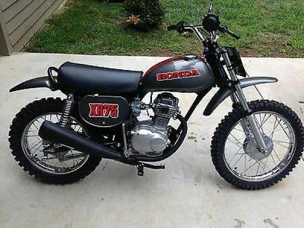 Honda Xr75 Bike Pinterest