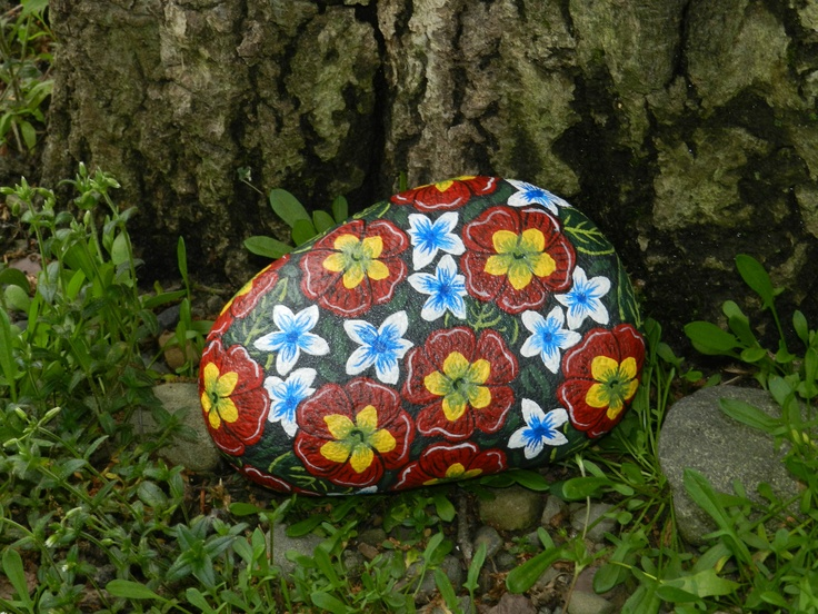 River rock painting ideas submited images pic2fly - River rock painting ideas ...