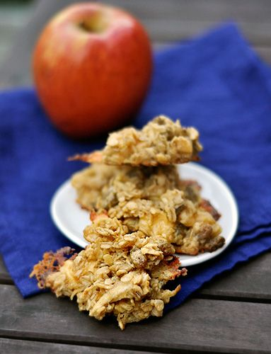 Made these savory and sweet Apple Gouda Oatmeal Cookies twice! Perfect ...