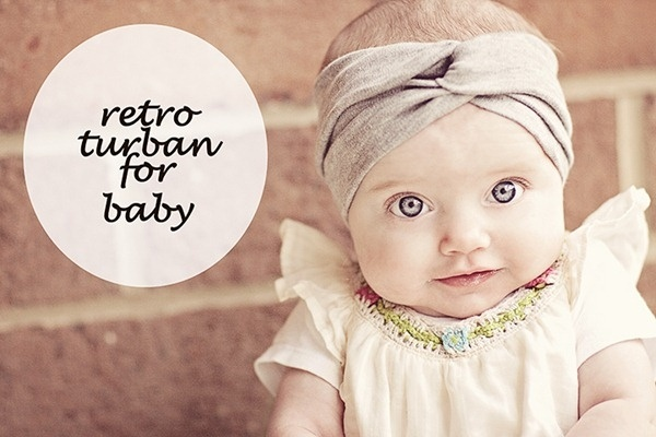 Retro Turban Baby Iboejava Grandchildren