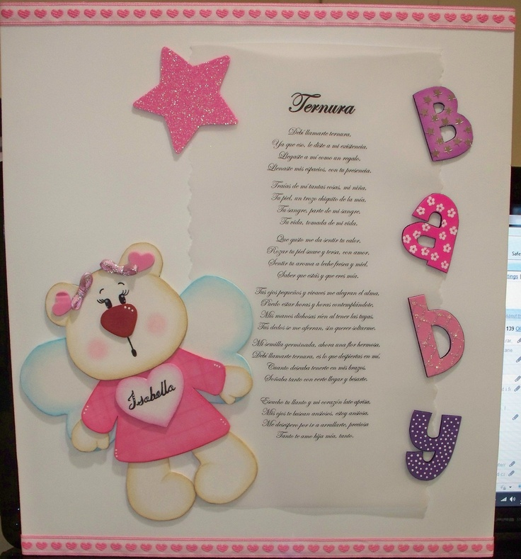 Foamy baby shower crafts for Baby shower decoration cutouts