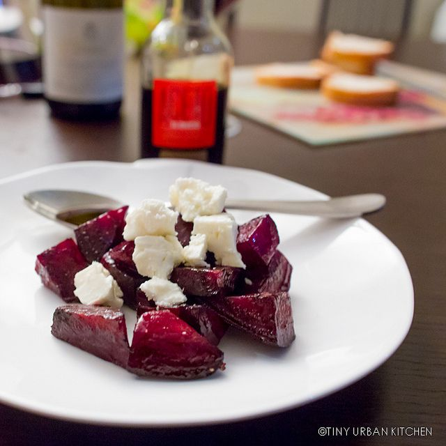 Oven Roasted Beet Salad with Feta and aged Balsamic by ...