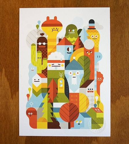 Character City Print