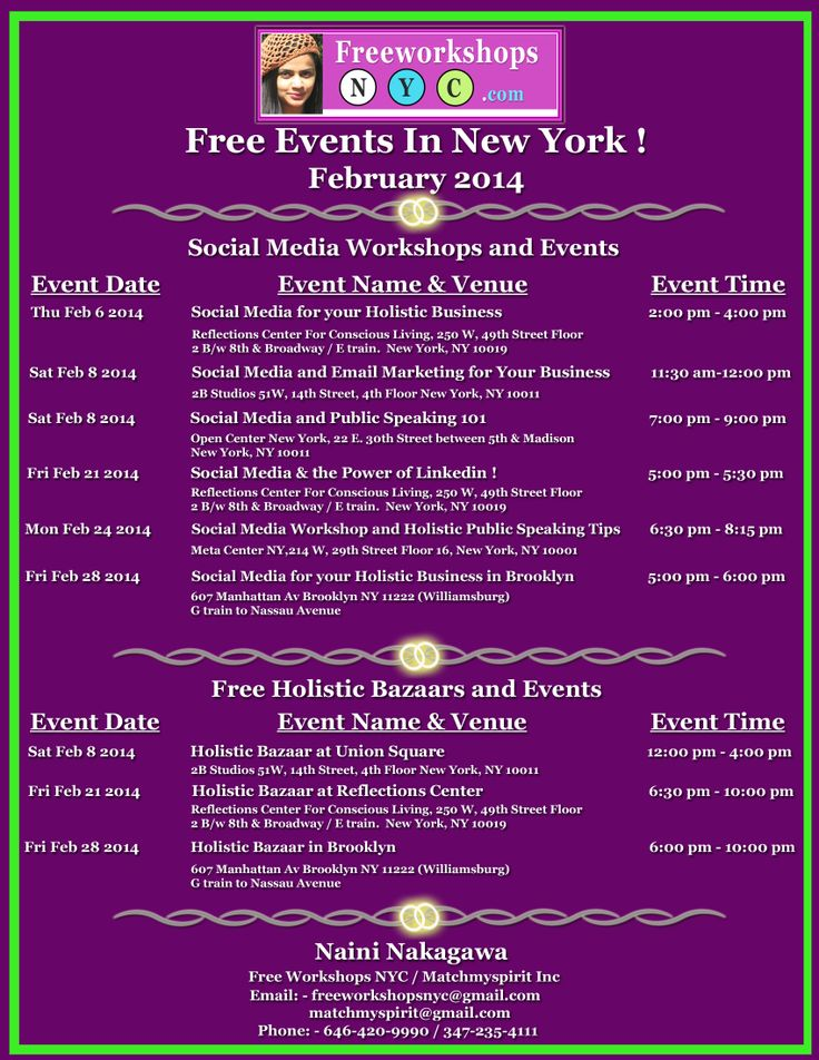 free events in nyc memorial day weekend 2015