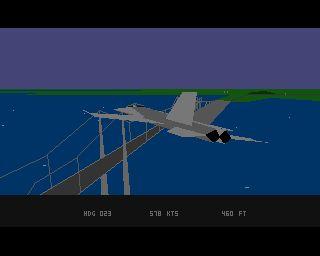 18 Interceptor, Amiga 500, 1989