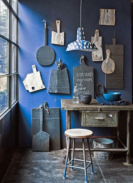 Blue Kitchen Wall Paint Spiration Pinterest