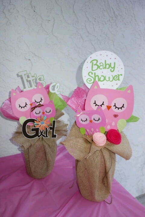 owl centerpieces for baby shower home design 2017