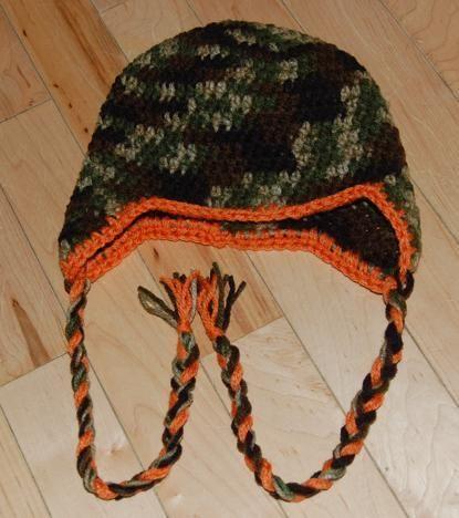 Free Crochet Basic Earflap Hat Pattern : Basic Earflap Hat Pattern Crochet Pinterest