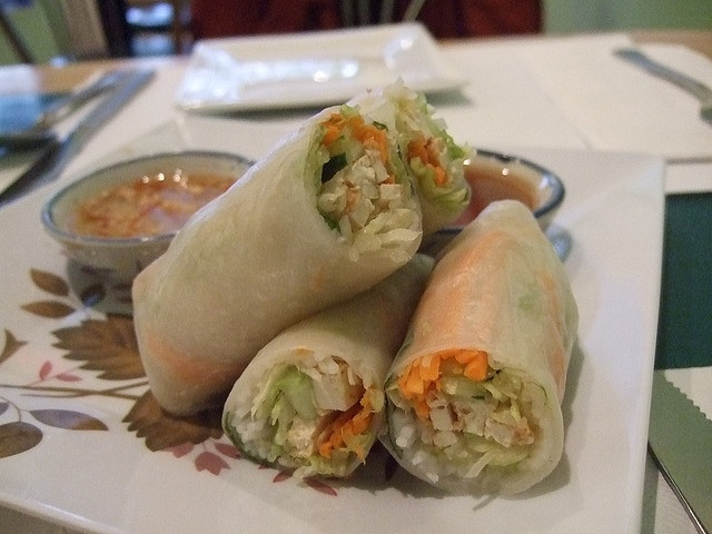 summer rolls, no shrimp add pork | 101 Bits of Wrus Love | Pinterest