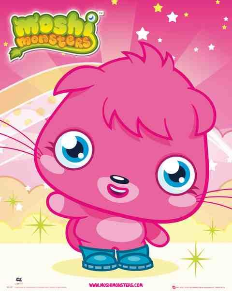 poppet moshi monsters coloring pages - photo#31