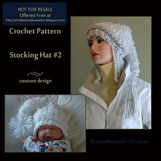 Free Crochet Stocking Hat Patterns For Adults : Stocking Hat #2 Free Crochet Pattern Crocheted Things I ...