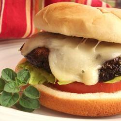 Portobello Mushroom Burgers Allrecipes.com