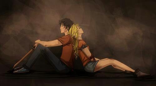 Percy And Annabeth Falling Into Tartarus Drawing Mount olympus weekly ... Percy And Annabeth Fall Into Tartarus