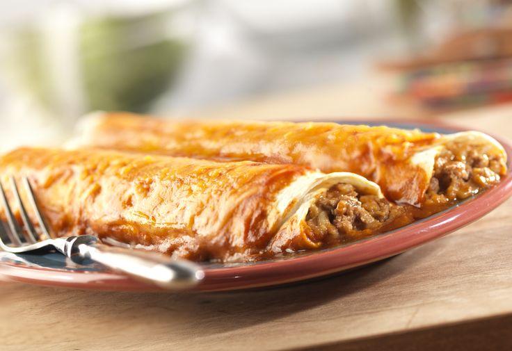 Easy Beef Enchiladas | Recipe