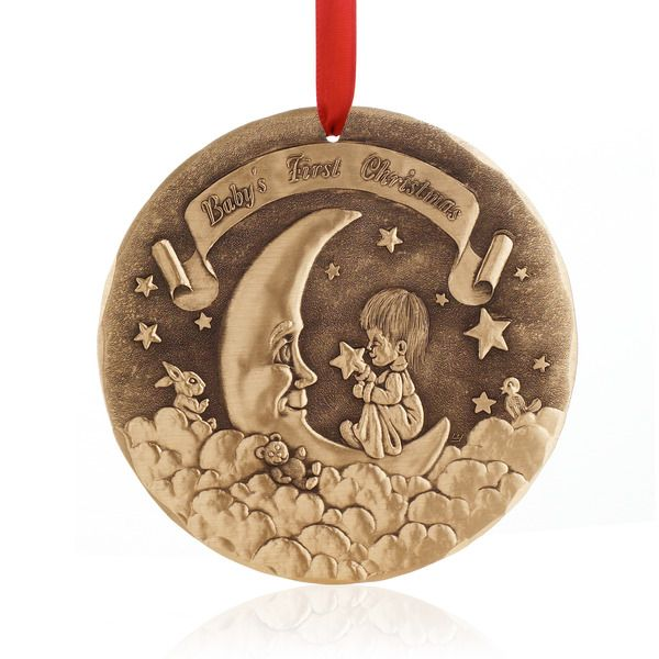 Babys First Christmas Gift Ideas Pinterest : Baby s first christmas ornament