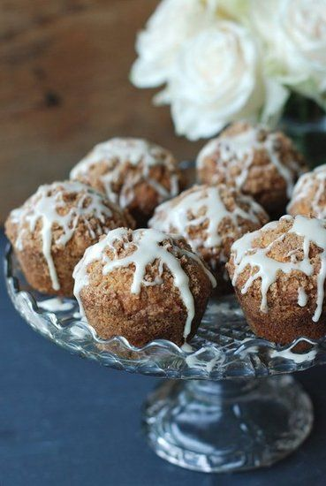 Greek Yogurt Apple Streusel Cake Recipe — Dishmaps