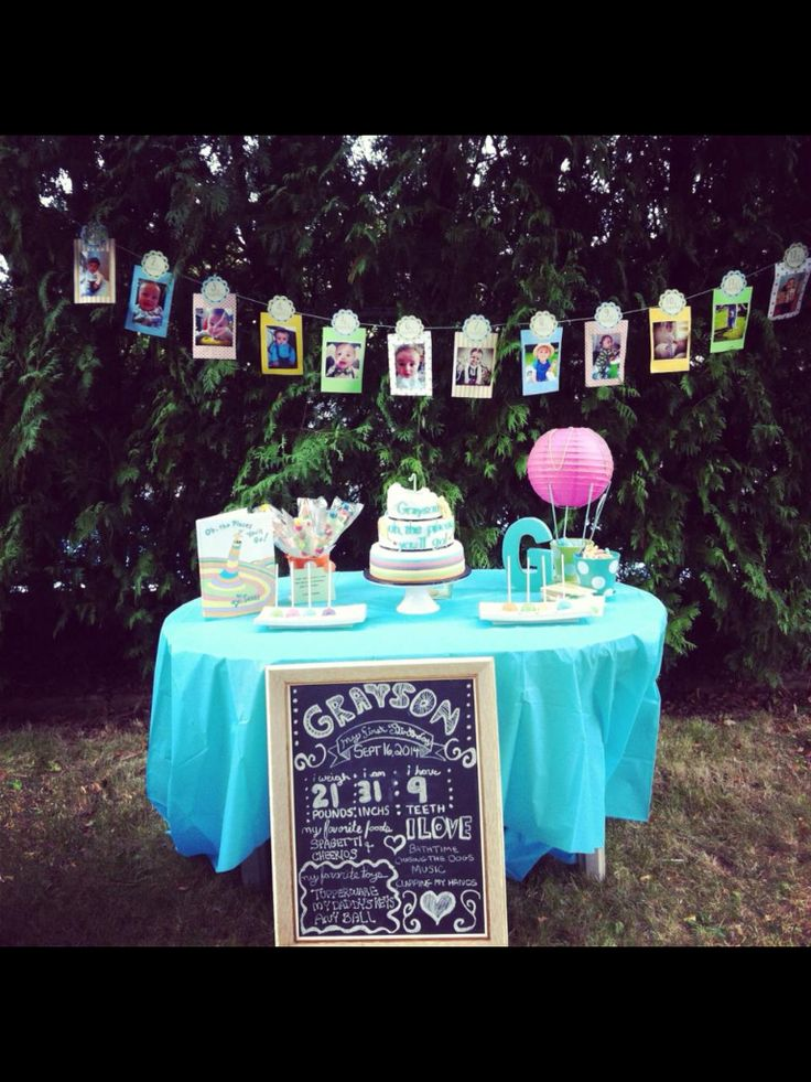Oh The Places You 39 Ll Go First Birthday Party Ideas