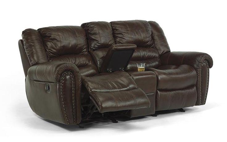 Flexsteel Dual Reclining Leather Sofa Miller Waldrop Our Brands