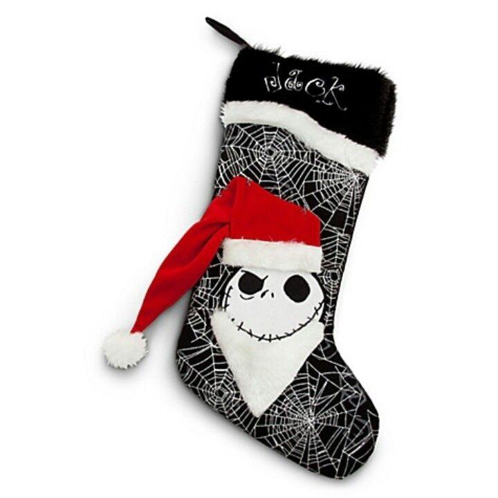 Nightmare Before Christmas Stocking | X-Mas