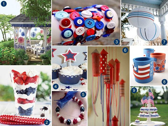 4th of july decorations diy