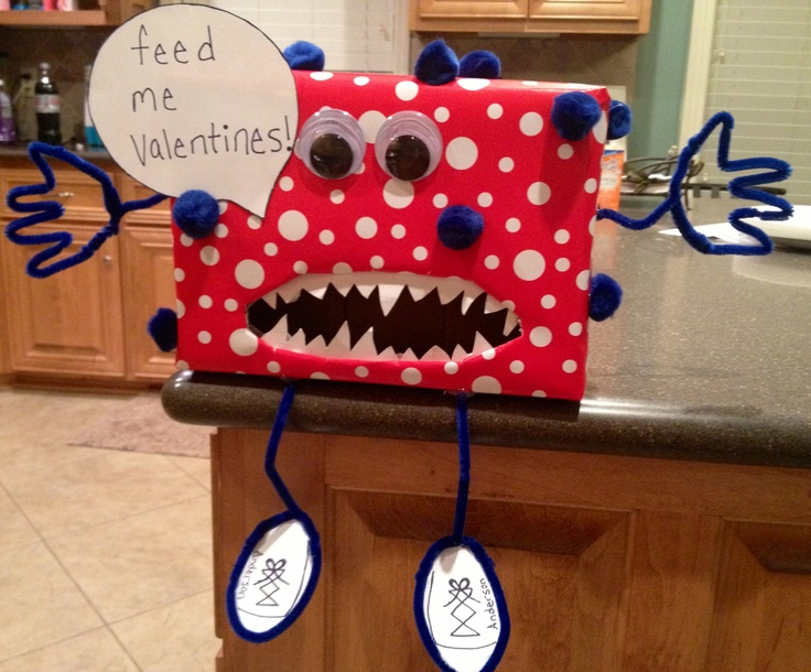 valentine's day box craft