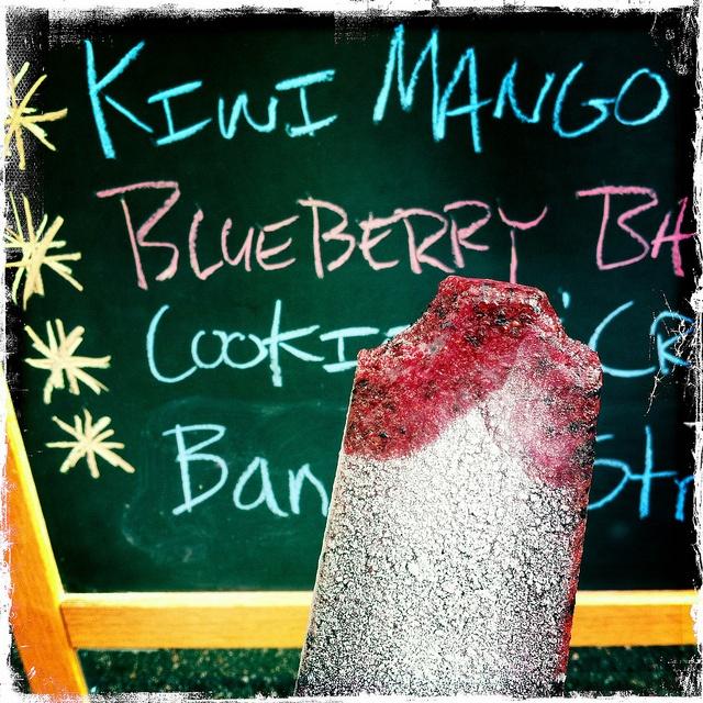 ... blueberry buttercream frosting blueberry basil lemonade pops on the