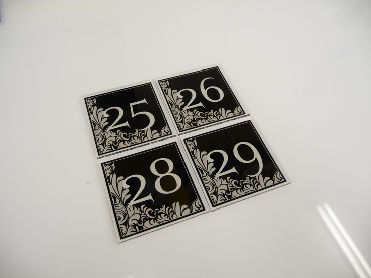 Apartment Door Number LED House Numbers And Letters Apartment LED ...