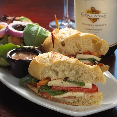 Tomato Mozzarella Sandwich | favorite recipes | Pinterest