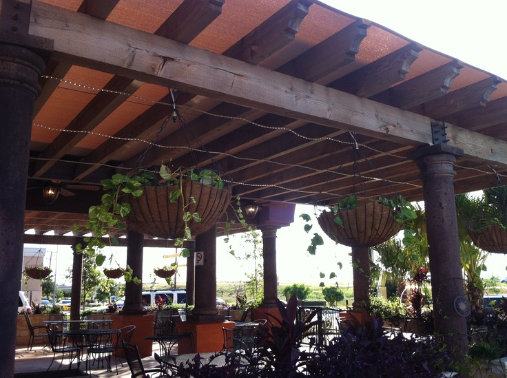 Backyard Porch Restaurant : porch curtains  Restaurant Patio Curtains & Shades  Chism Company