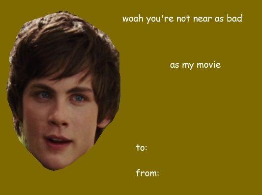 percy jackson valentine cards