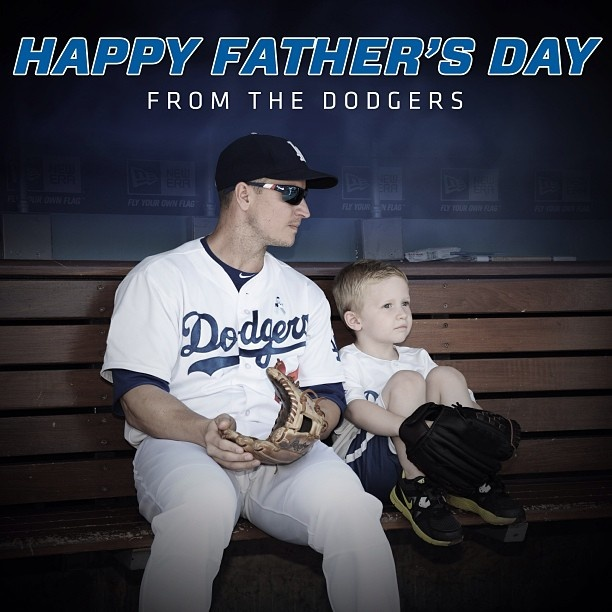 father's day dodger shirts