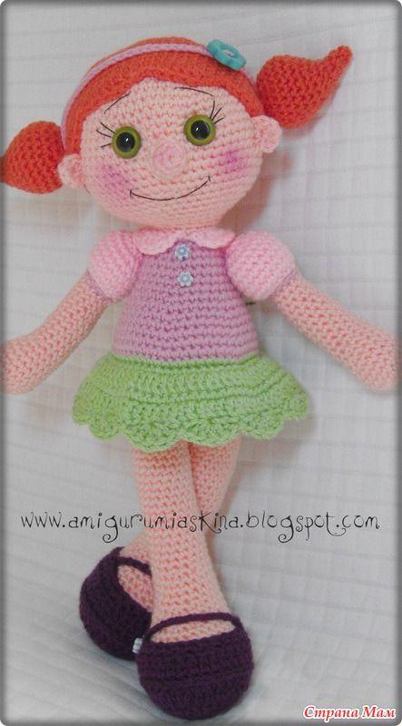 Вязаная куколка (перевод описания): Дневник пользователя bysinka738 - Страна Мам