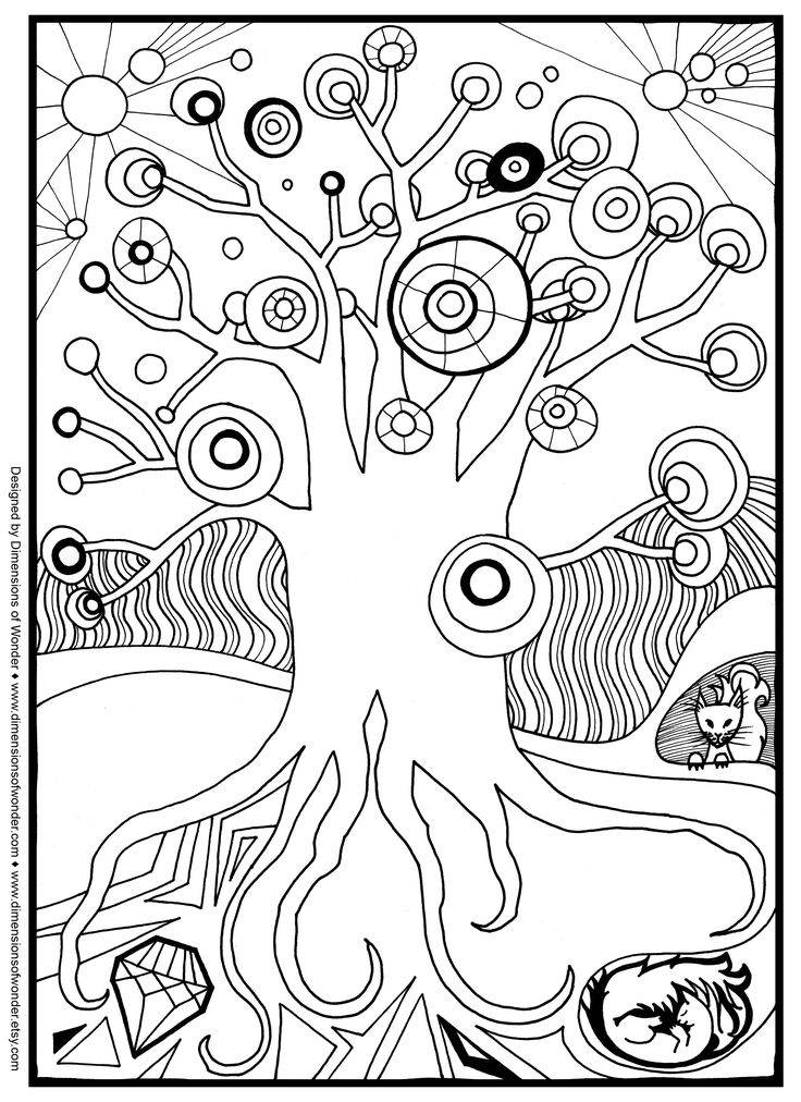 Free Printable Christmas Coloring Pages For Adults Only Coloring pages ...