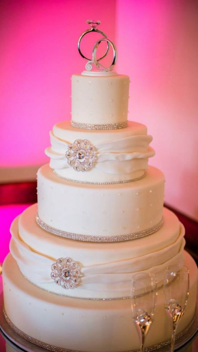 My Princess Wedding Cake WEDDING BLISS Pinterest