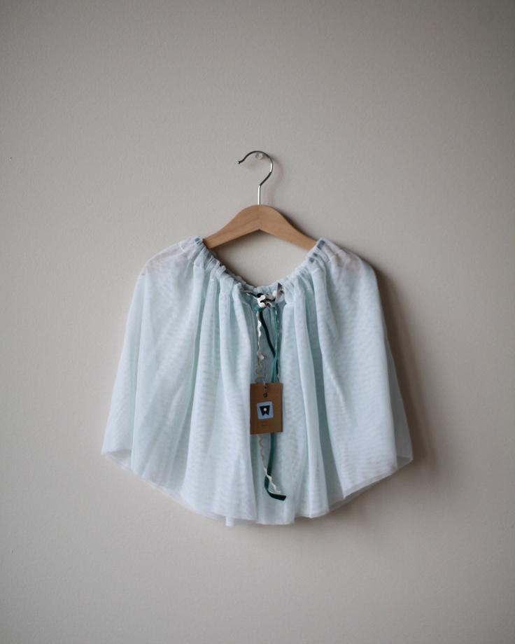 light blue tulle skirt fashion for