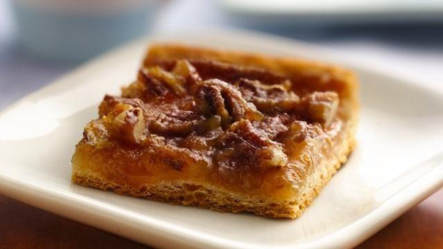 Quick Crescent Pecan Pie Bars | Recipe
